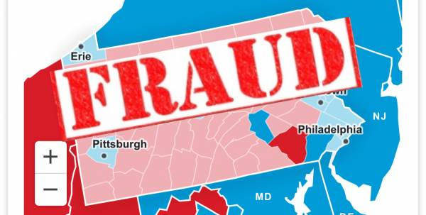 BREAKING: Pennsylvania Certified Results for President Are Found in Error – The Error Is Twice the Size of the Difference Between Candidates 1