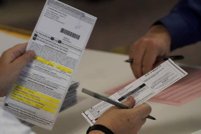 Evidence of ballot dumping found in Wis., Mich. 1