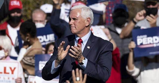 Mike Pence Visits Georgia, Vows to 'Keep Fighting Until Every Illegal Vote Is Thrown Out' 1