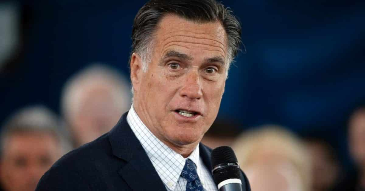 """Mitt Romney Sides With the Likes of Hillary Clinton and Mainstream Media, Says Trump is Acting """"Undemocratically"""" and No """"Plausible Case"""" of Voter Fraud 1"""