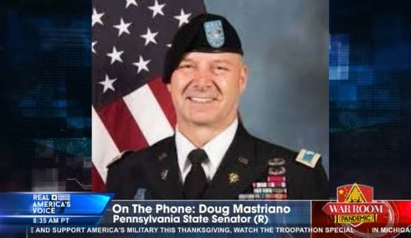 Retired Army Colonel and PA State Senator Doug Mastriano Calls on Deputy AG to Investigate Fraudulent PA Presidential Election Results 1