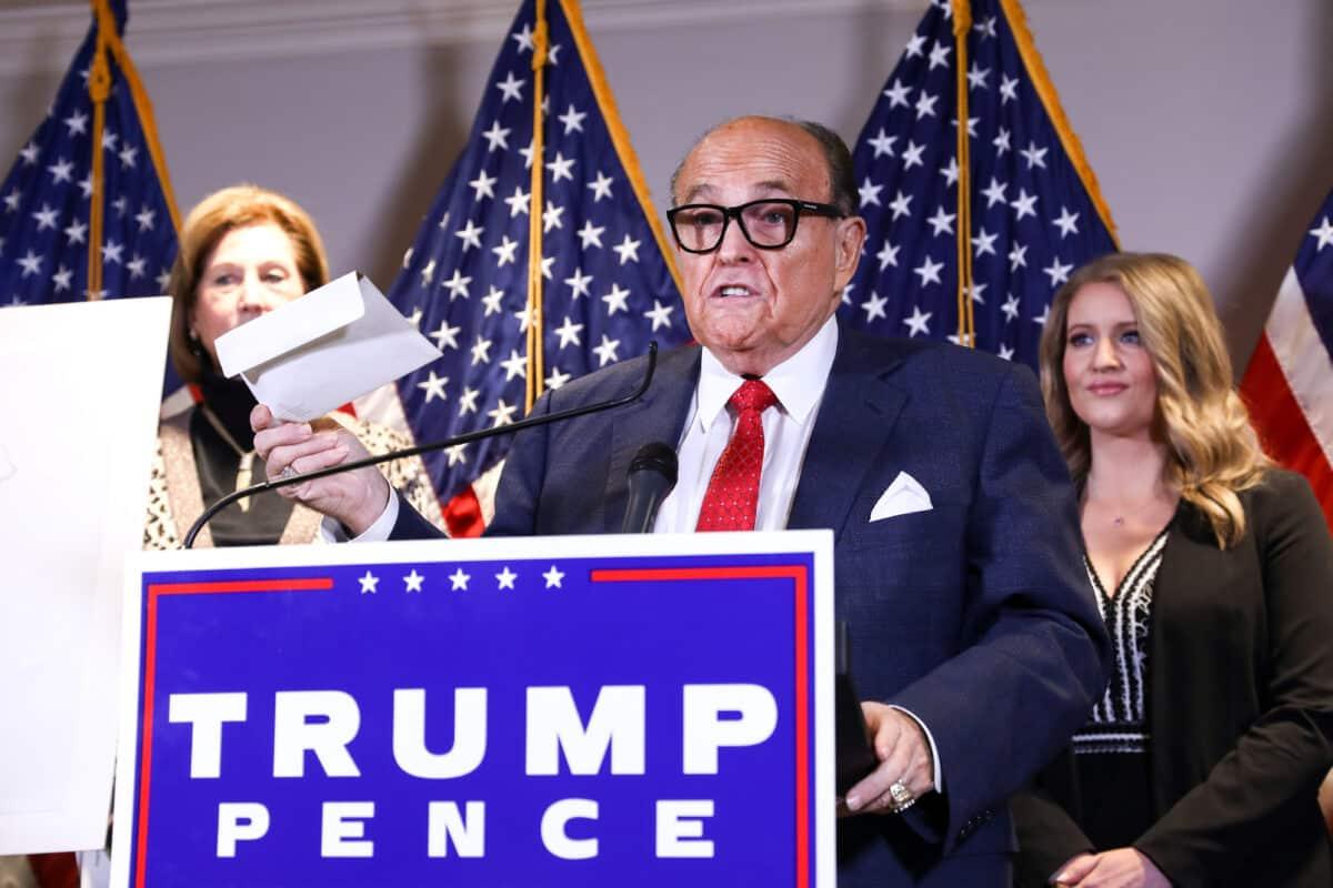 Giuliani Alleges Dominion Director's Ties to Antifa 1
