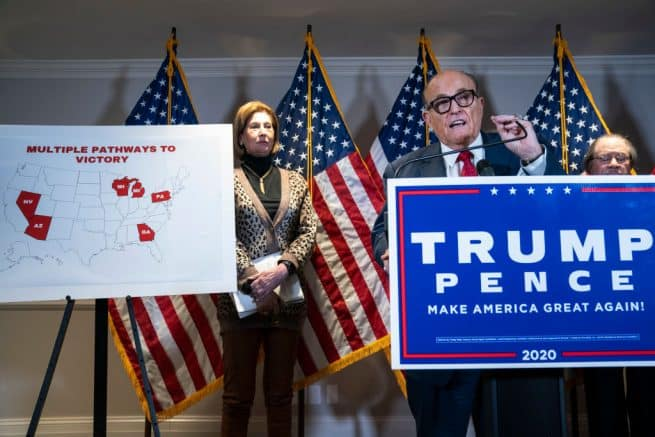 Trump campaign slams Wisc. election officials over recount fraud 1