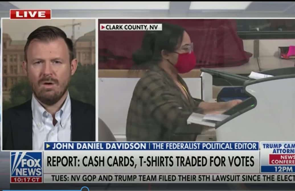 John Davidson: The Proof Is Out There Of Nevada Voter Fraud 1
