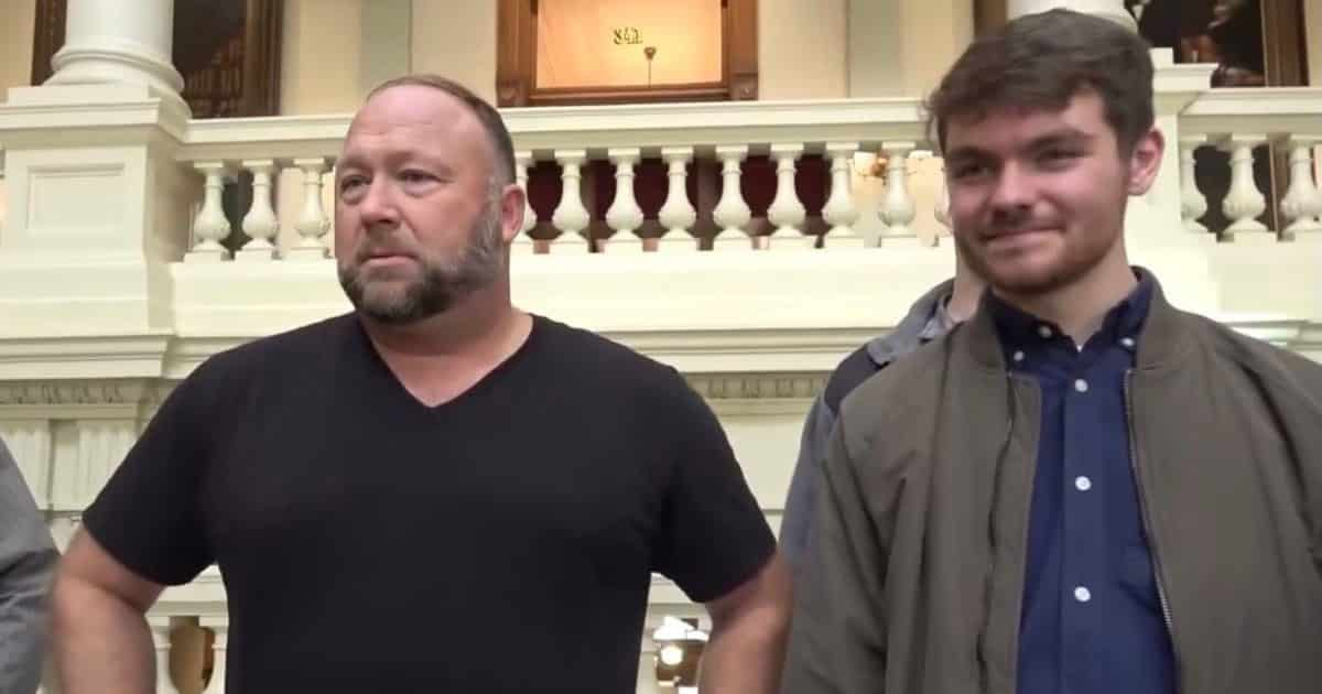 VIDEO: Alex Jones, Nick Fuentes Lead Stop The Steal Rally At Georgia State Capitol 1