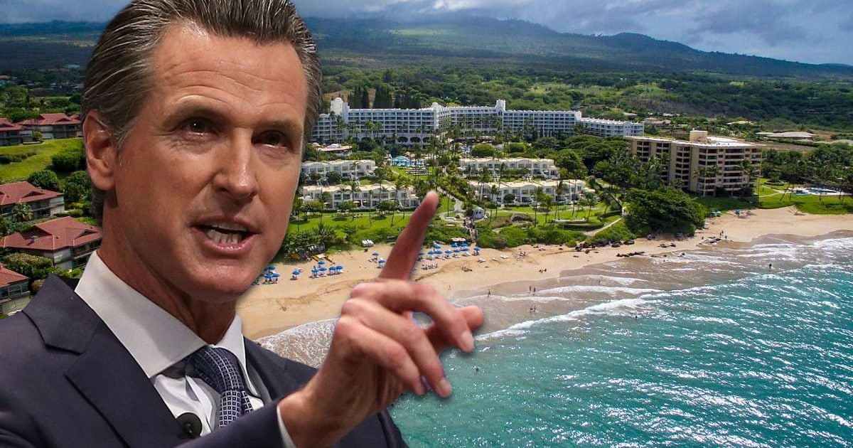 California Democrats Ignore Their Own COVID-19 Travel Ban, Go To Hawaii For 'Summit' 1