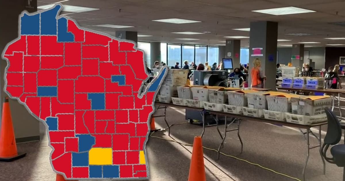 WISCONSIN RECOUNT: Out Of 176 Recount Workers, Only 58 Are Republican 1