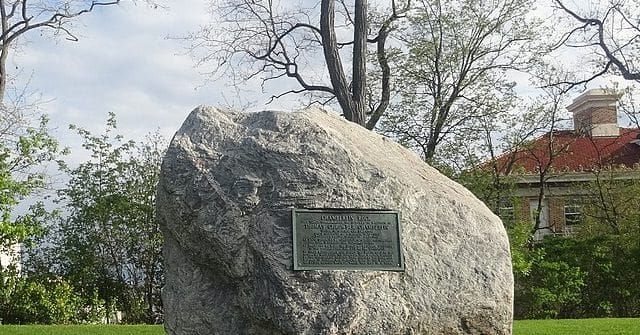 University of Wisconsin Declares Large Rock to be Racist; Votes to Remove 1