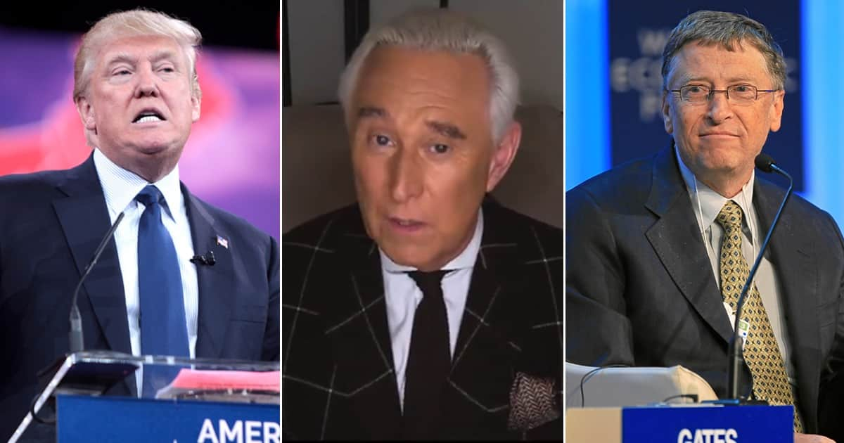 ROGER STONE: Bill Gates, Microsoft Designed Election Fraud Software Used By Dominion 1