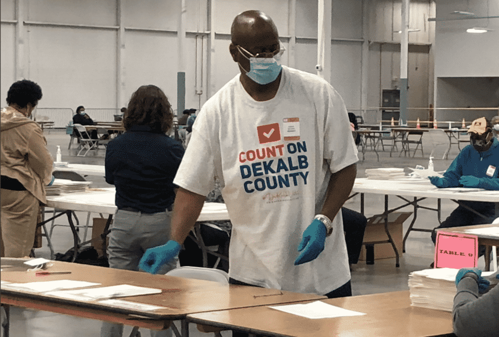 Georgia Republican Poll Watcher Discovered Recount Error Off By More Than 9,000 Votes For Biden 1