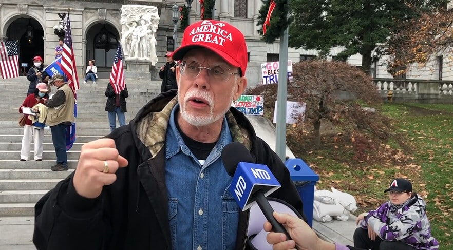 Pennsylvania Voter: 'Everybody Should Take to the Streets' 1