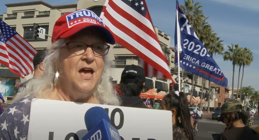 California Voter: 'We Have to Fight Tyranny' 1