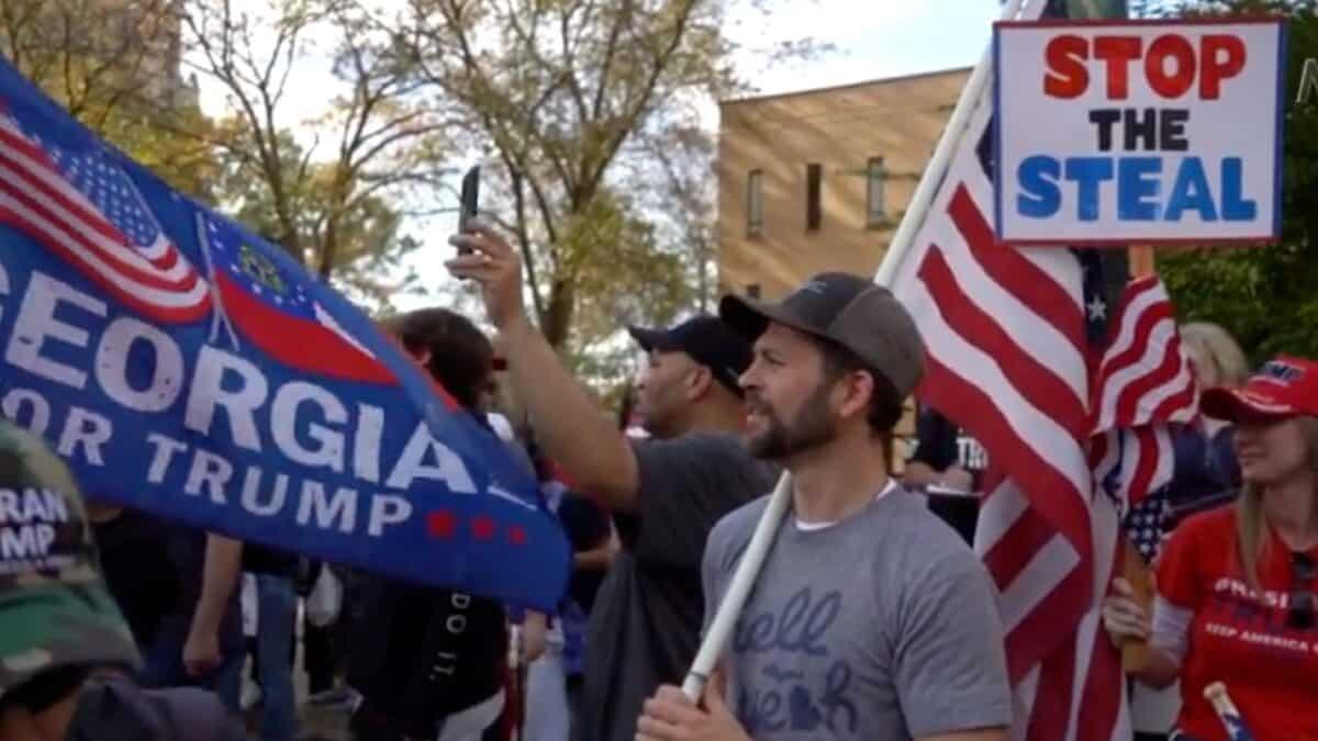 Trump Supporters Rally in Atlanta Demanding Fair Election 1