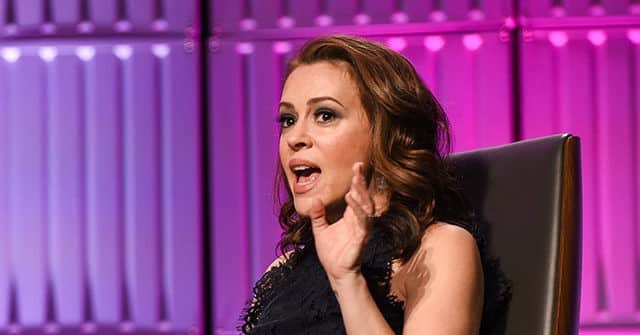 Alyssa Milano Warned Against Electronic Voting Machines in 2018: 'We Need Paper Ballots' 1