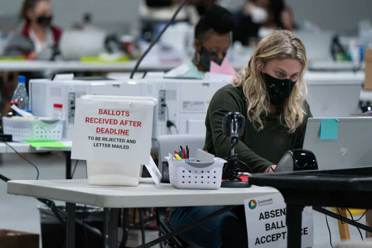Conservative Activist on Georgia's Second Recount: The Most Important Part Is Matching Signatures 1