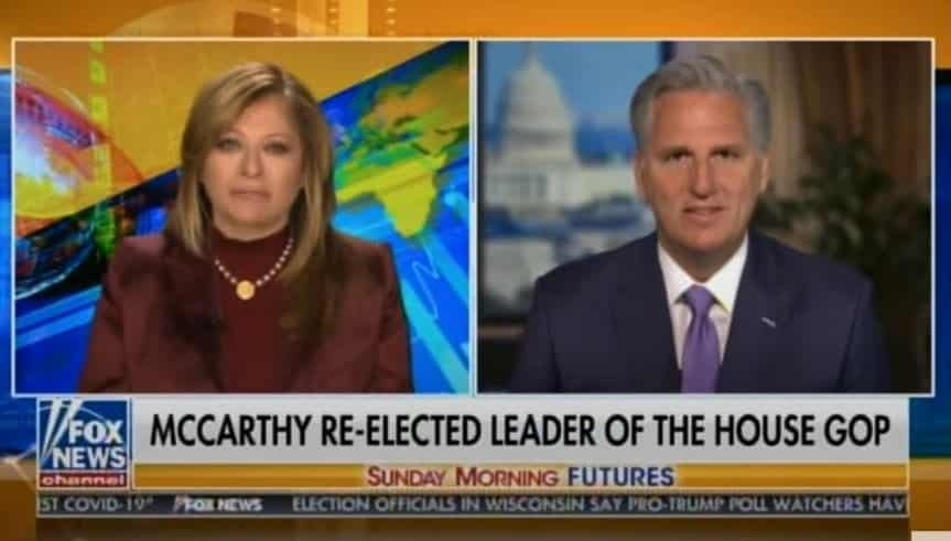Tone Deaf GOP Leader McCarthy ALREADY Willing to Toss President Trump and His 73.8 Million Voters Under the Bus (VIDEO) 1
