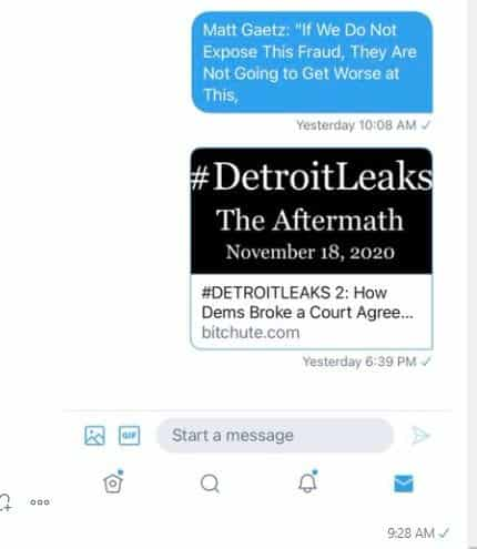 """It Begins… Twitter Won't Let You Share Truthful #DetroitLeaks Video on Michigan Election Fraud — Labels It """"Suspicious Content"""" 1"""