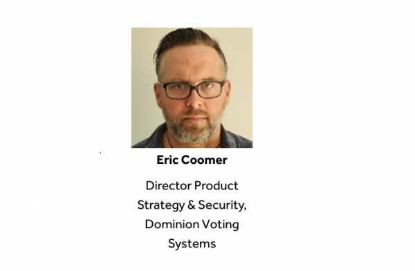 NEW ERIC COOMER VIDEO UNCOVERED: Admits in 2015 Dominion Machines DO NOT Have Ability to Spit Out Fraudulent Ballots (VIDEO) 1