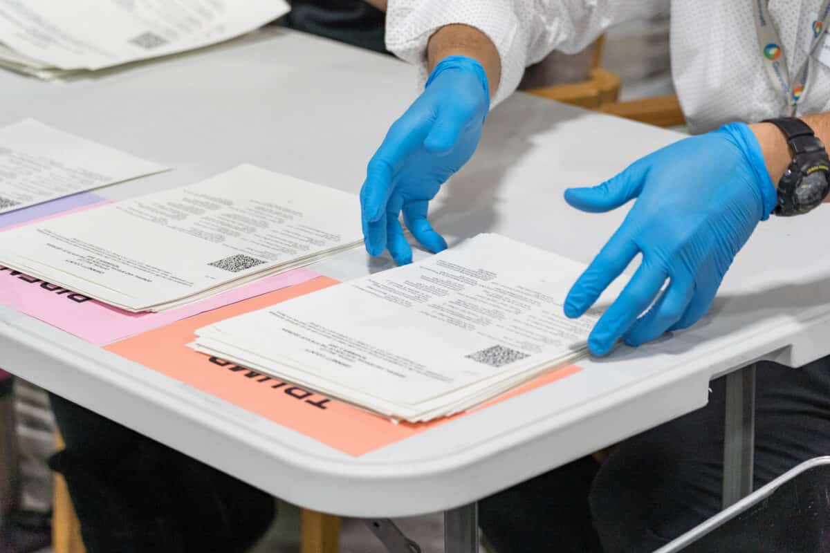 Georgia Counties Find Nearly 6,000 Ballots 1