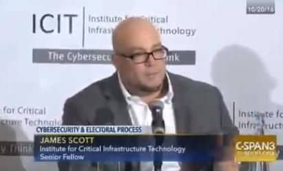 Cybersecurity Expert: Easiest Way to Compromise Elections System Is During the Manufacturing Process — And It's Not Hard a t All (VIDEO) 1