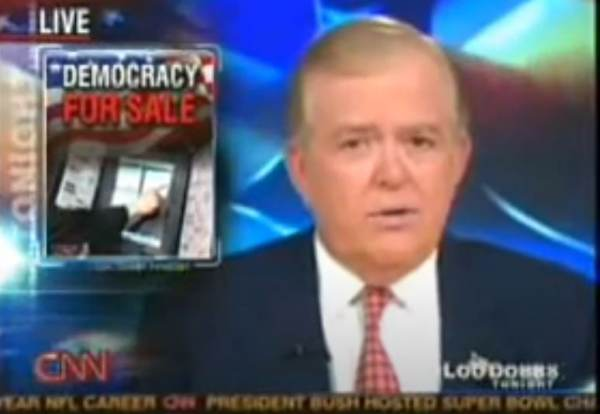 FLASHBACK: Lou Dobbs on CNN in 2006: Smartmatic Based in Venezuela Sold to Sequoia, Top Officials Still in Venezuela, Before Sale to Dominion 1