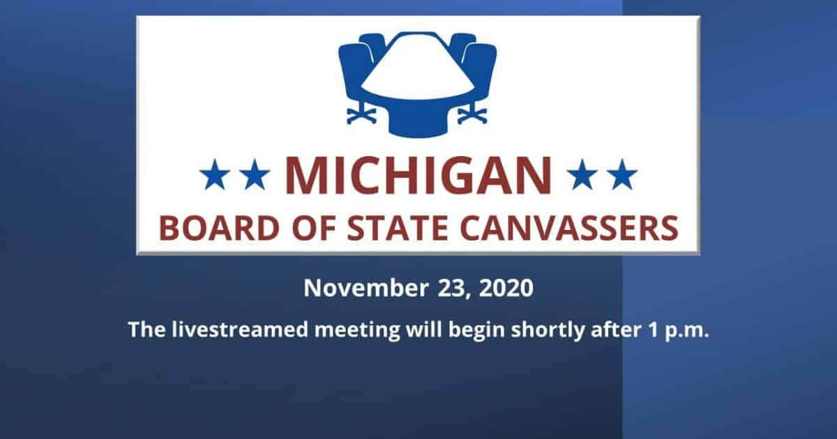 Michigan Board of Canvassers Votes 3-0 to Certify Election Results Despite Countless Affidavits Detailing Massive Fraud 1