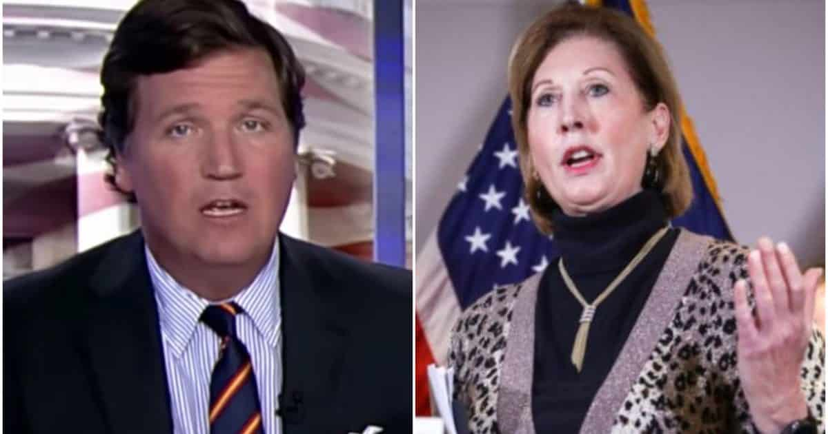 ET TU, TUCKER? Carlson Suggests Sidney Powell Has No Evidence of Vote Steal Coup on 'Fox News' 1