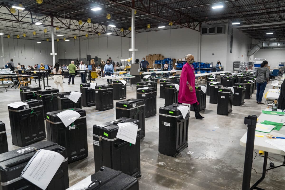 Georgia Officials Investigating After Old Voting Machines Found Dumped Near Savannah 1
