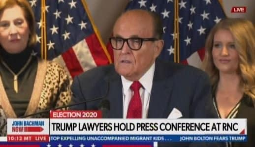 BREAKING: Rudy Giuliani Calls for 682,770 Mail-In Ballots to Be Thrown Out due to Fraud (VIDEO) 1