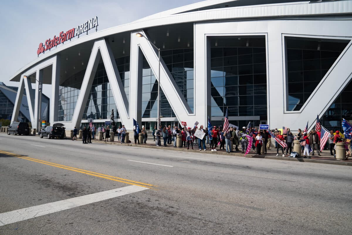 Subpoena in Georgia Election Lawsuit Seeks Video Footage From State Farm Arena 1