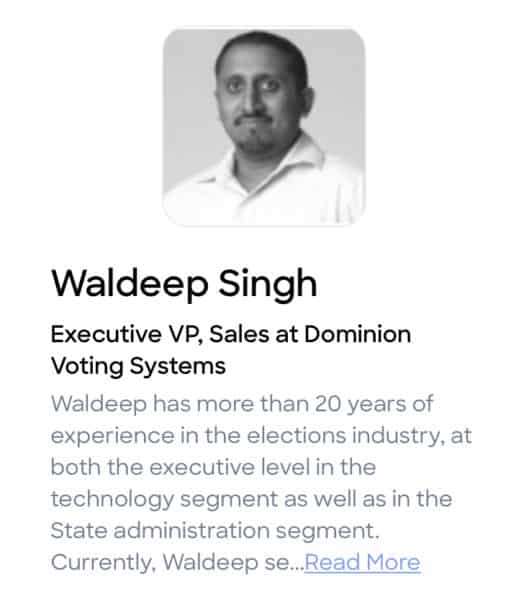 Dominion Exec VP Lets It Slip: Software Switched Votes From One Candidate To Another 1