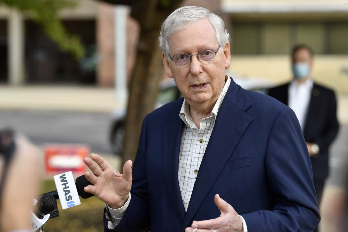 It's Not a 'Conspiracy Theory' When They Do It: Left Is Questioning Mitch McConnell's Vote Totals in Kentucky 1