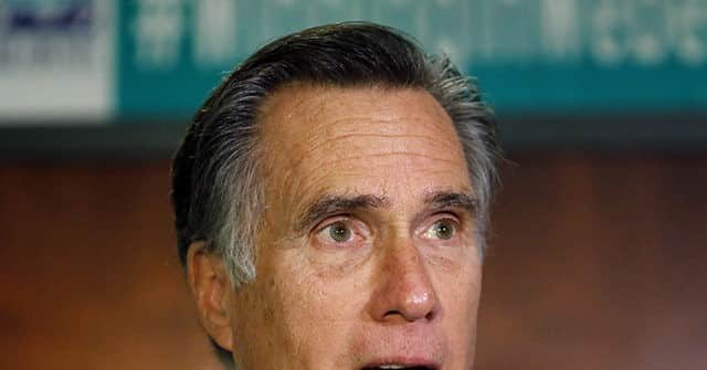 Romney: 'Sad' that Trump Acting 'Embarrassing' -- 'Loopy' Election Conspiracies 1
