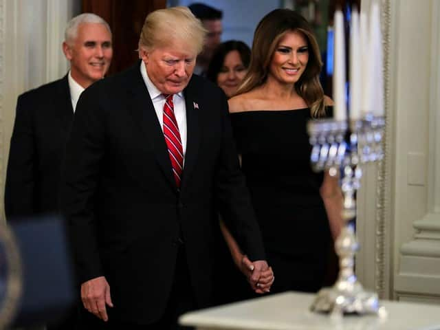 Trump at White House Hanukkah Party: With 'Courage We're Going to Win This Election' 1