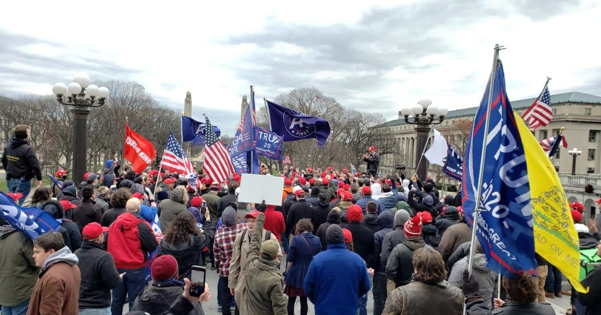 Young America First Patriots Hold Successful Stop the Steal Rally at Pennsylvania State Capitol 1