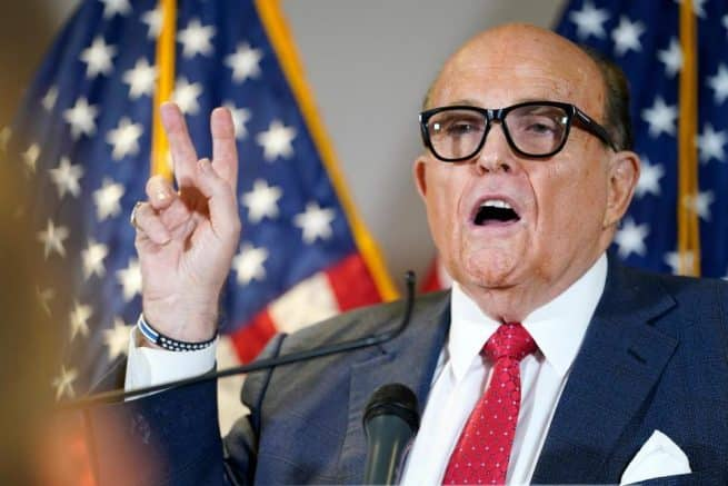 Attorney Giuliani says Dominion voting machines in Democrat-run states must be audited 1