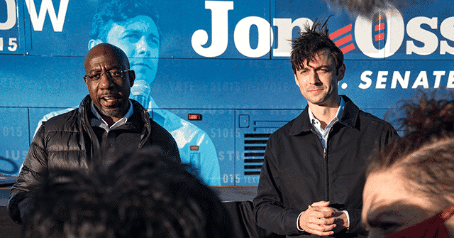 Georgia Poll: Raphael Warnock, Jon Ossoff Lead GOP Incumbents 1