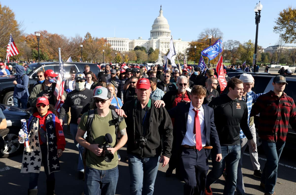 Pro-Trump Groups to Rally in DC to Call for Election Integrity 1