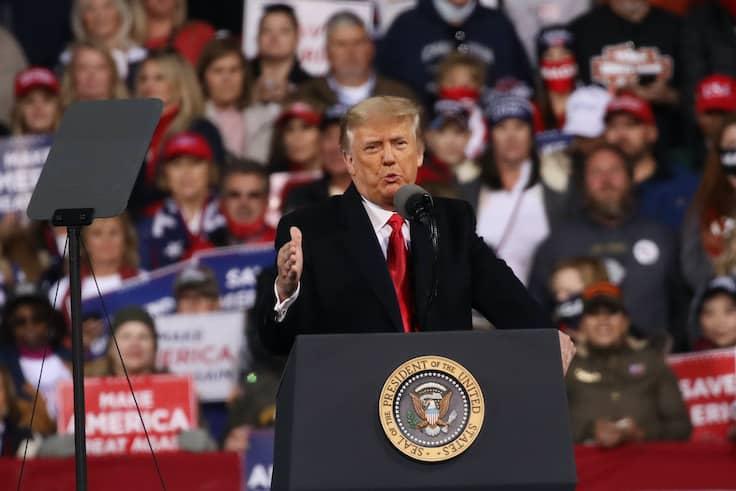 Trump Urges 'Georgia Patriots' to Turn Out in Senate Runoffs 1