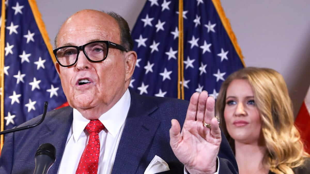 Rudy Giuliani: Three State Legislatures May Change Electoral College Voters 1