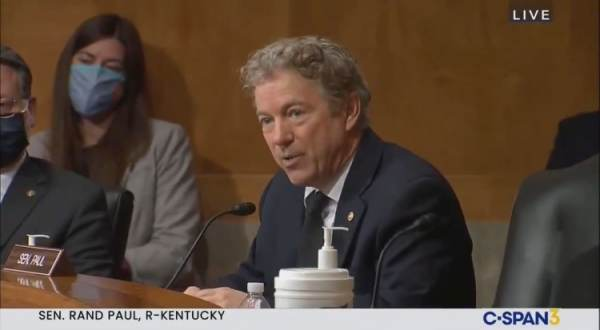 Rand Paul: The Fraud Happened; This Election in Many Ways Was Stolen (VIDEO) 1