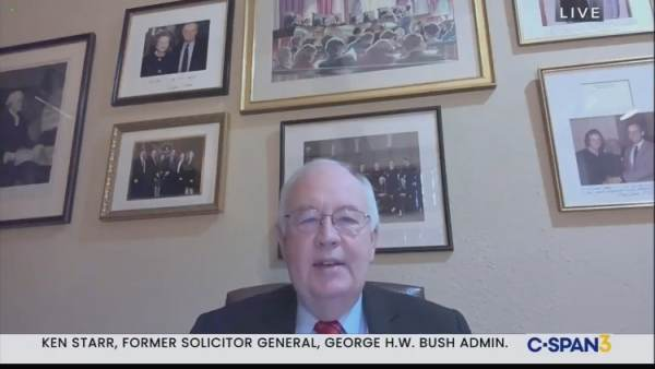 "Ken Starr: Pennsylvania ""Flagrantly Violated"" Laws Ahead of Presidential Election (VIDEO) 1"