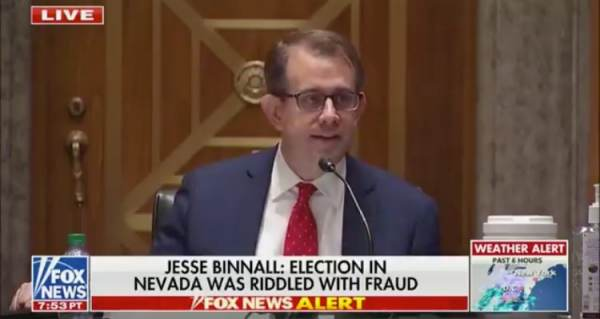 Trump Campaign Attorney Tells Senate Committee Over 42,000 People Voted More Than Once in Nevada (VIDEO) 1