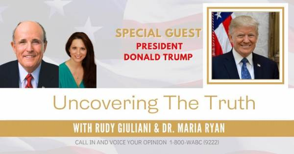 """We Are Actually Very Close"" – President Trump Discusses Ongoing Efforts to Turn Election Around with Dr. Maria Ryan and Giuliani (AUDIO) 1"