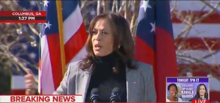 CRINGE: Kamala Harris Channels Hillary Clinton, Musters Fake Accent While Campaigning in Georgia (VIDEO) 1