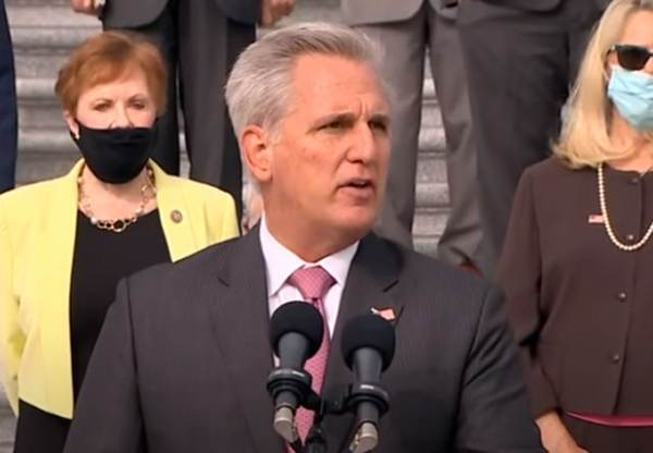 GOP Minority Leader Kevin McCarthy Joins 125 House Republicans in Supporting Texas Supreme Court Lawsuit Against Pennsylvania, Michigan, Georgia and Wisconsin 1