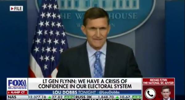 Gen. Flynn: Election Witness in ICU, Other Witnesses Had Tires Slashed, House Broken Into Twice 1
