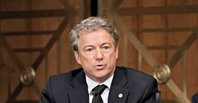 'Fraud Happened': Sen. Rand Paul Says the Election in 'Many Ways Was Stolen' 1