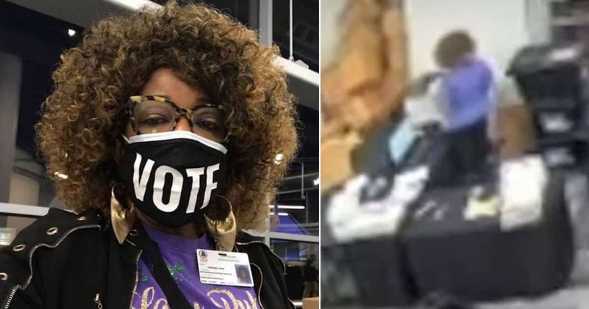 VIDEO: Georgia Poll Worker Ruby Freeman Runs SAME BALLOTS Through Tabulation Machine MULTIPLE TIMES 1