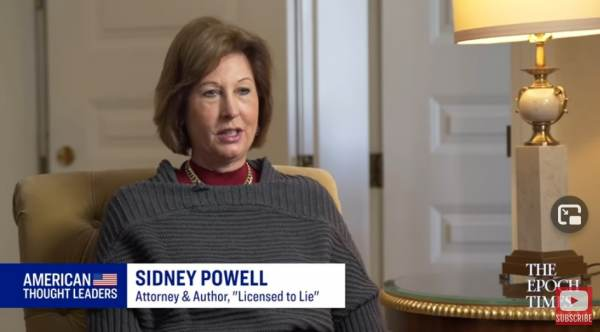 """""""Supreme Court's Failure – Completes the Implosion of Each of the Three Branches of Government"""" – Attorney Sidney Powell Responds to SCOTUS Decision on Election Fraud Cases 1"""